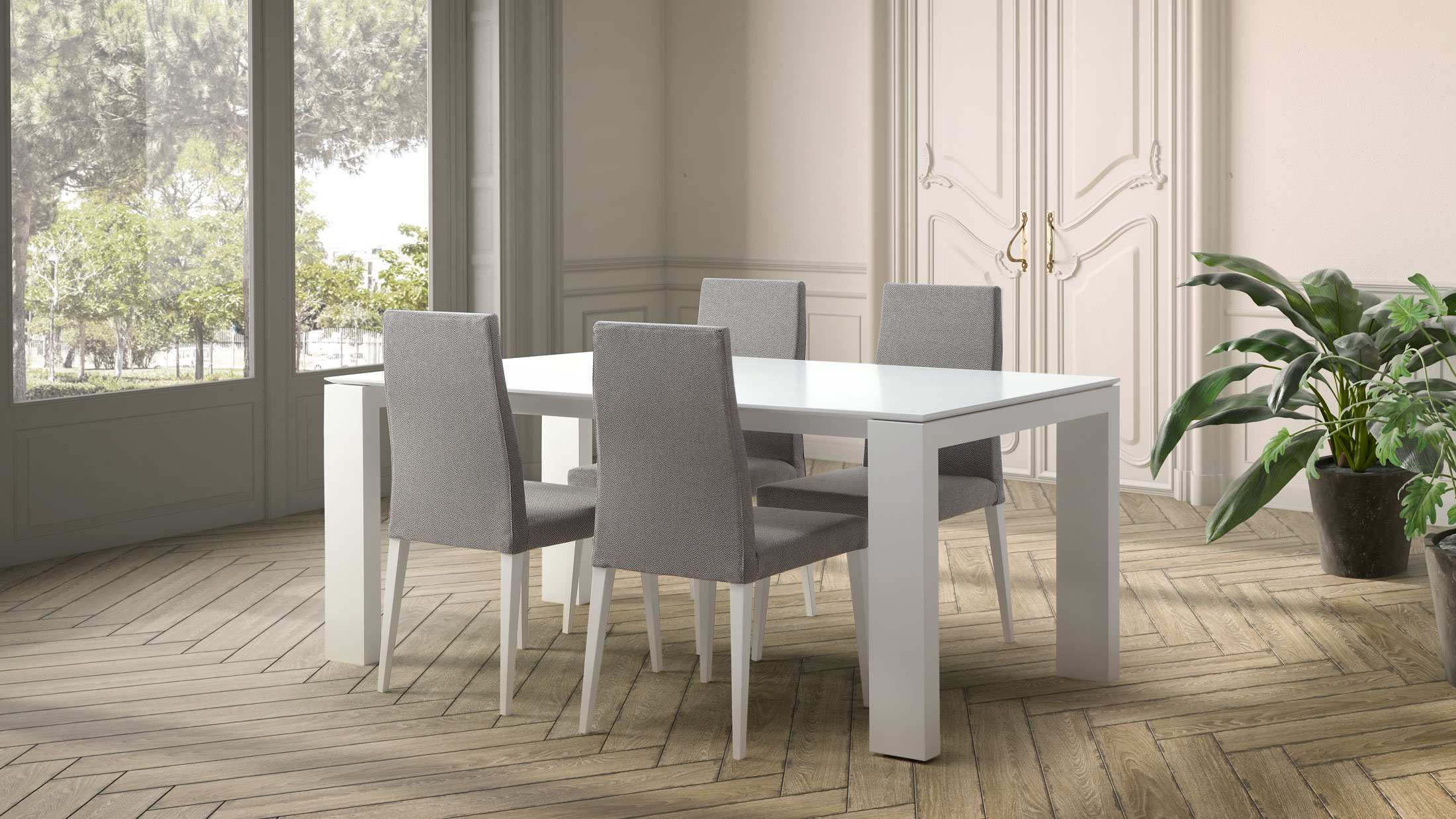 DOOS. Silla Roma S01 Mesa Global.